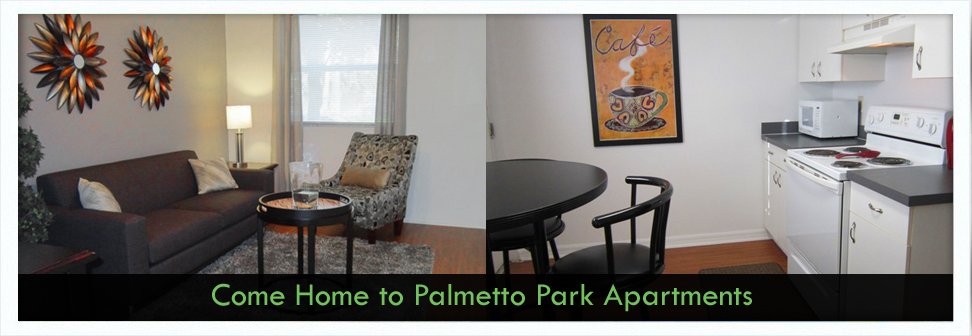 Palmetto Apartments Kitchen Dining Room